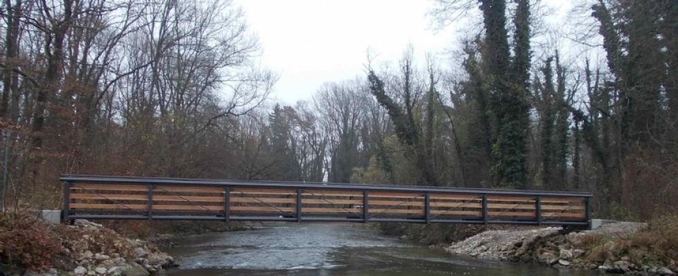 Erneuerung von 8 Brücken im Emmeringer Hölzl (FFH-, Vogel- u. Landschaftsschutzgebiet)