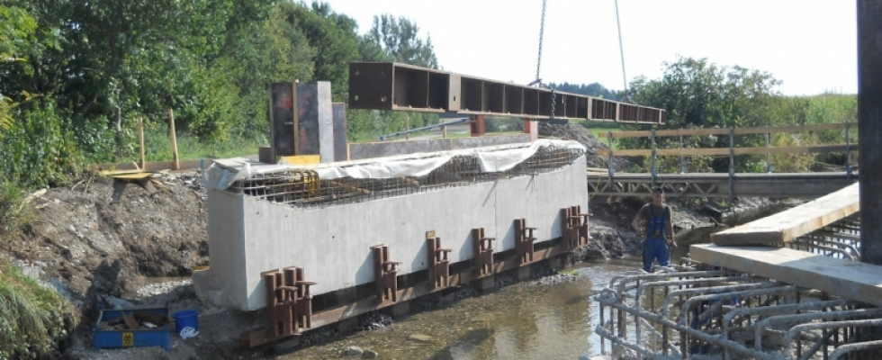 Brückenerneuerung in der Gemeinde Egenhofen