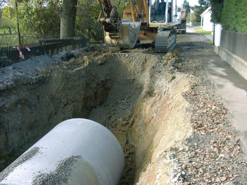 Neubau eines Stauraumkanals in Grunertshofen