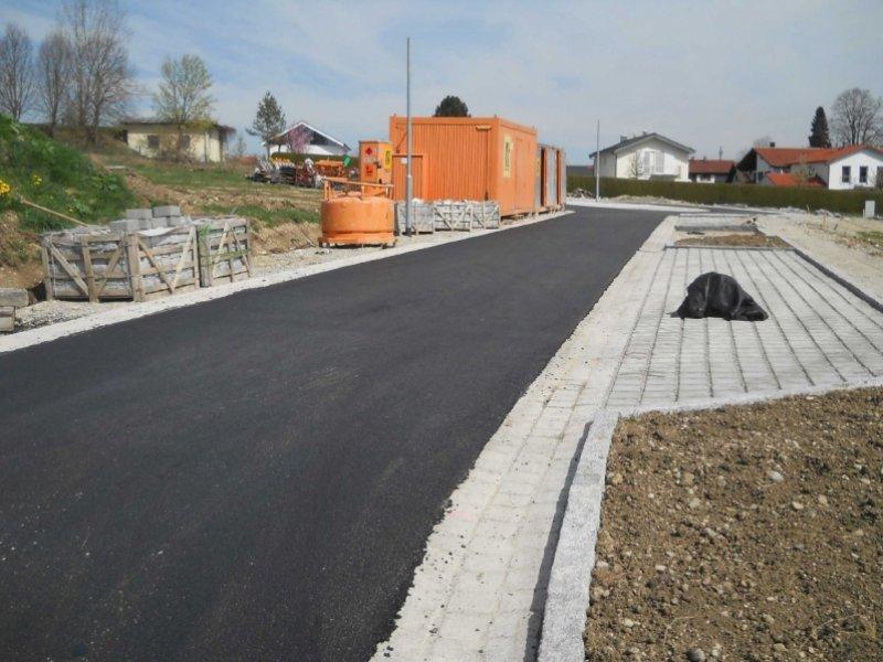 Erschließung Baugebiet Kriegerdenkmal in Seefeld-Hechendorf